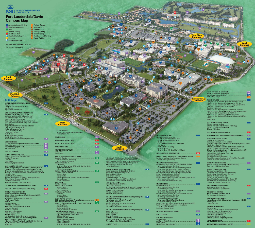 nova southeastern university campus map 2020 Sallarulo S Race For Champions Locations Special Olympics nova southeastern university campus map